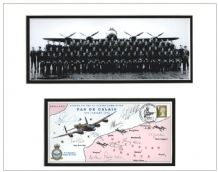 617 Squadron Autograph Signed Display